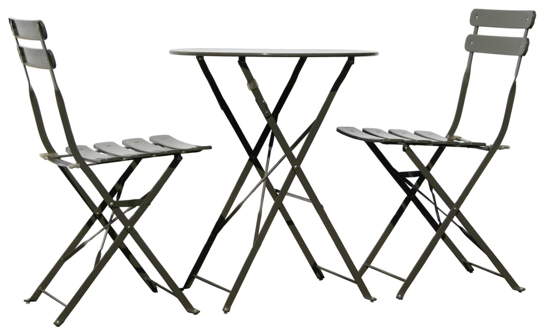 sets u003e garden round bistro table and 4 chairs patio outdoor bistro